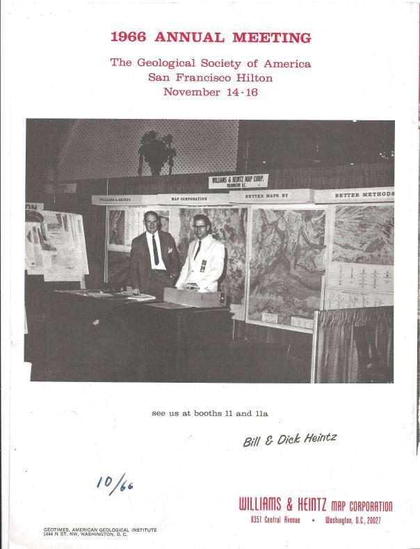 Bill and Dick Heintz Past Presidents of Williams & Heintz