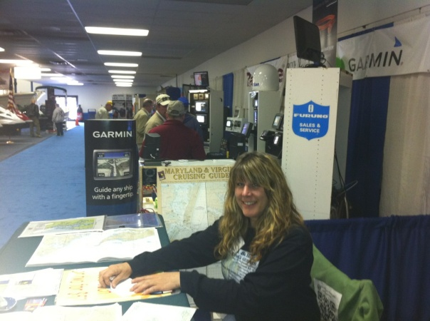 Virginia Cruising Guide at the Richmond Boat Show