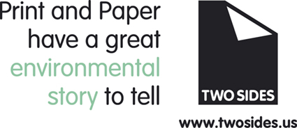 Williams & Heintz Map Corp. joins Two Sides U. S.  Print and paper have a great environmental story to tell.