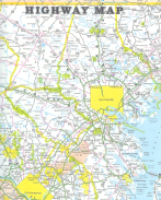 HIGHWAY MAP From: MARYLAND STATE HIGHWAY MAP Publisher: MARYLAND DEPARTMENT OF TRANSPORTATION