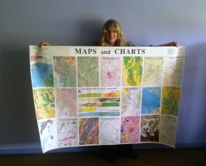 Williams & Heintz prints many different kinds of maps and charts