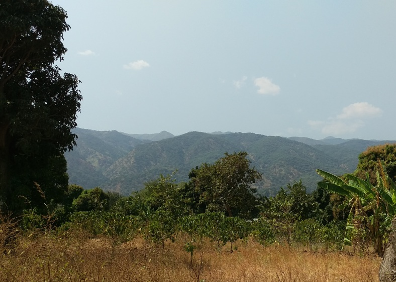 The view in Itimba Village, Mbeya, Tanzania.