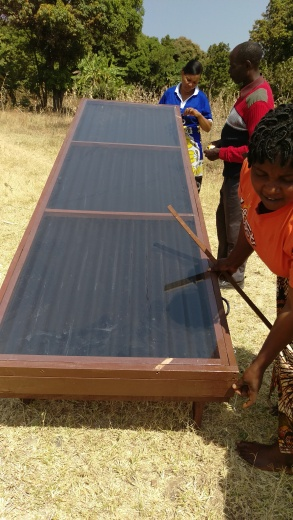 Solar dryer in Itimba Village, Mbeya, Tanzania