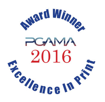 Williams & Heintz Map Corporation PGAMA 2016 Excellence in Print