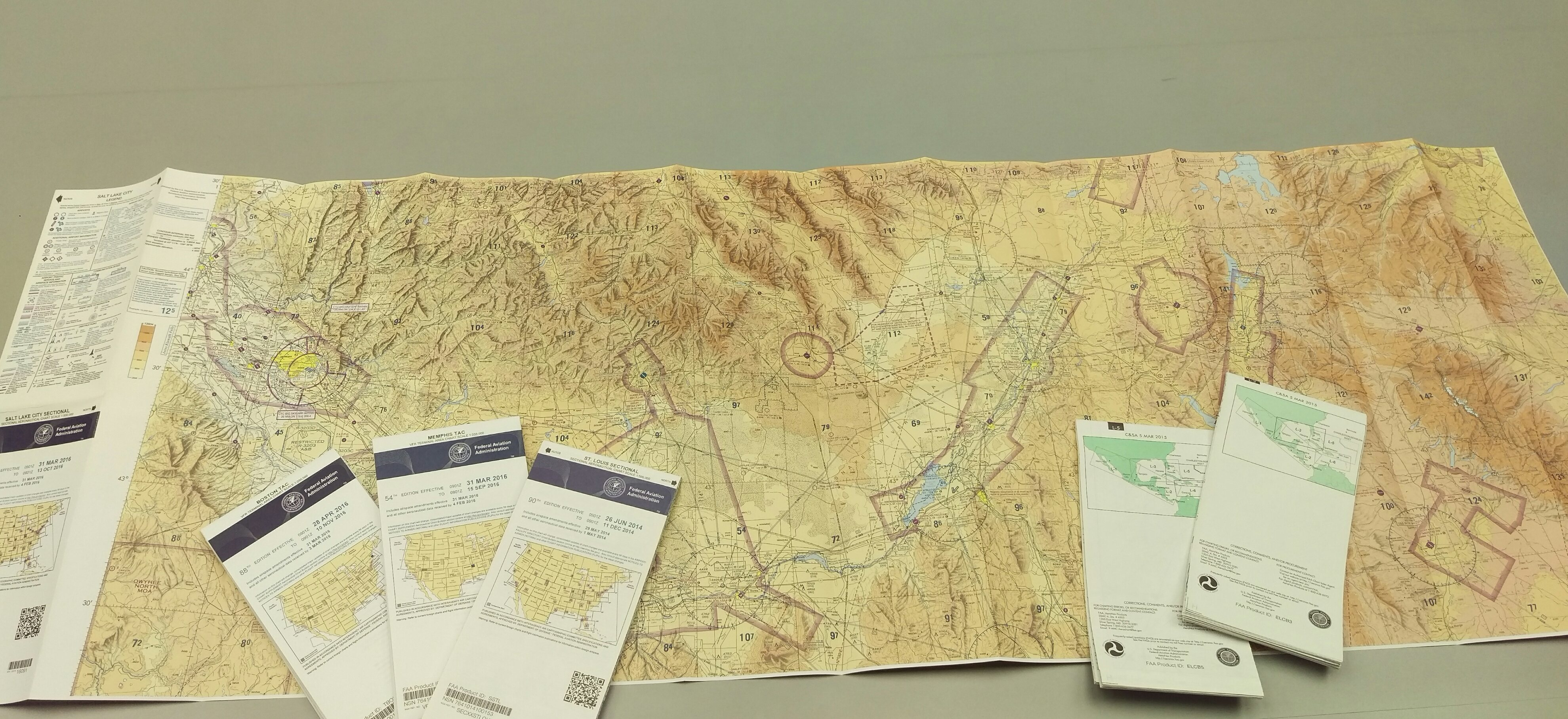 Williams Heintz Map Is First FAA Approved Print Provider - Faa map of us after 9 11